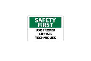 Safety Series: Safe Lifting Techniques