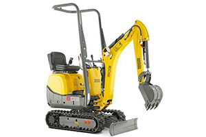 Wacker Neuson 803 - Narrow Access Excavator