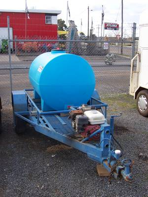 Watercart c/w Pump