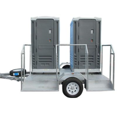 Deluxe Dual Towable Function Toilet