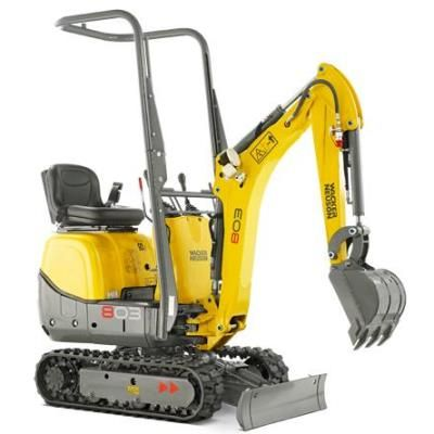 Wacker Neuson 803   Limited Access Excavator