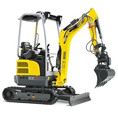 Wacker Neuson EZ17   17 Tonne Zero Tail Excavator