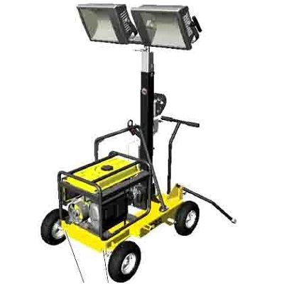 Wacker Neuson ML240 Mobile Light Tower