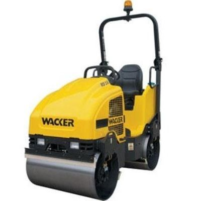 Wacker RD16 Dual Drum Vibration Sit On Roller 16 Tonne