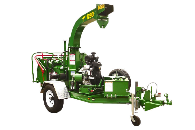RED ROO 1290 COMMERCIAL 230MM9+quot WOOD CHIPPER