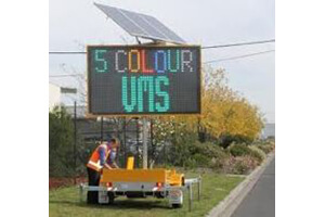 Variable Message Sign - 5 Colour VMS