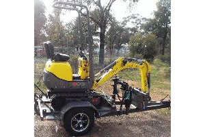 Wacker Neuson 803 - Limited Access Excavator with PHD