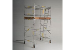 Aluminium Tower 2.4m x 0.6m 2 day minimum