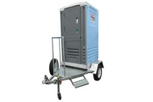 Deluxe Single Towable Function Toilet