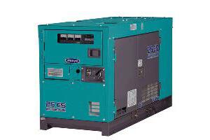 Denyo 25kVA Silenced Diesel Generator