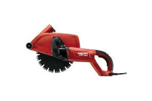 Hilti DCH 300 Dustless Electric Masonry Saw c/w Vac