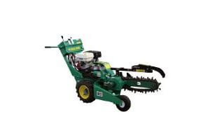 Hydraulic Irrigation Trencher 90mm x450mm Deep Self Propelled