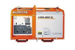 Kubota GL6000 - 6kVA Silenced Diesel Generator