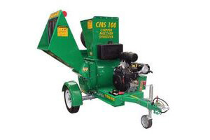 Red Roo CMS100 - Towable Chipper Mulcher Shredder