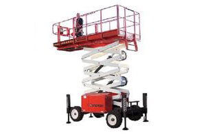 Snorkel S2770RT 8m Rough Terrain Scissor Lift